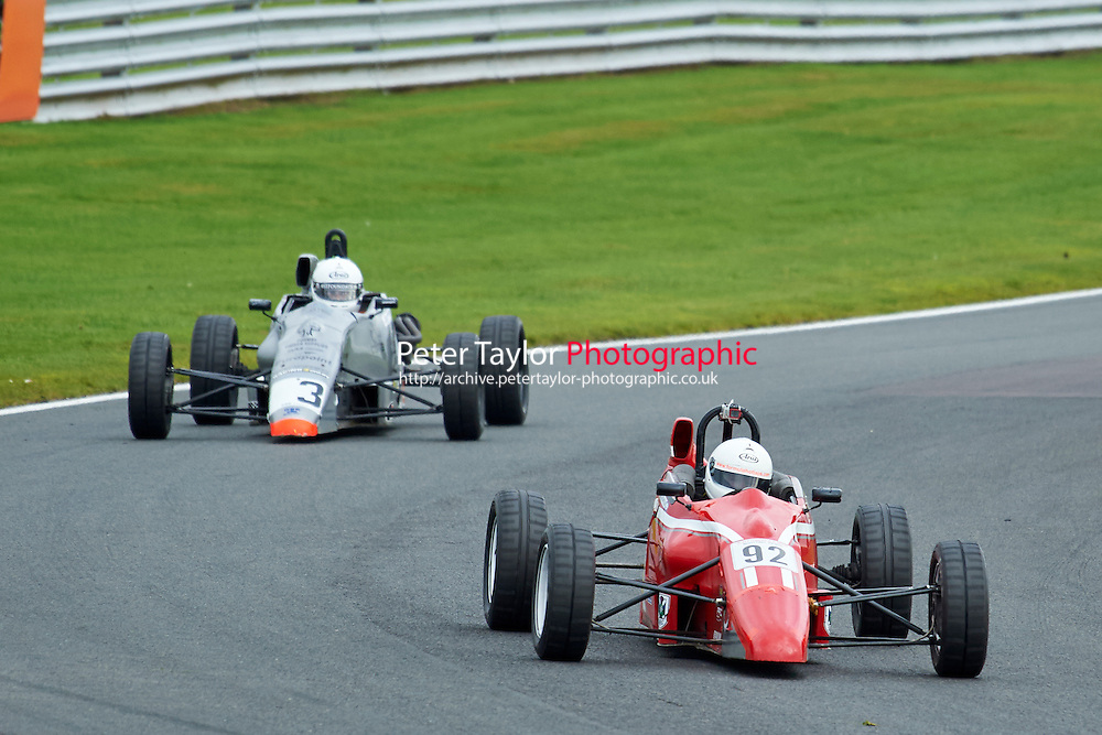 #92 Matthew Chisholm Van Diemen RF92 during Avon Tyres Formula Ford 1600 Northern Championship - Prost 89 Race 1 as part of the BRSCC Fun Cup Oulton Park 17th October 2015 at Oulton Park, Little Budworth, Cheshire, United Kingdom. October 17 2015. World Copyright Taylor/PSP. Copy of publication required for printed pictures.  Every used picture is fee-liable. http://archive.petertaylor-photographic.co.uk