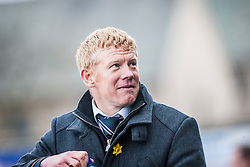Falkirk's manager Gary Holt.<br /> Alloa Athletic 3 v 0 Falkirk, Scottish Championship game played today at Alloa Athletic's home ground, Recreation Park.<br /> &copy; Michael Schofield.