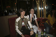 Matthew Greer and Sean Blake, , THANK YOU FOR THE MUSIC (LONDON BEAT) opening , SPR†TH MAGERS LEE and afterwards in the Grill Room of the Cafe Royal. 29 June 2006. ONE TIME USE ONLY - DO NOT ARCHIVE  © Copyright Photograph by Dafydd Jones 66 Stockwell Park Rd. London SW9 0DA Tel 020 7733 0108 www.dafjones.com