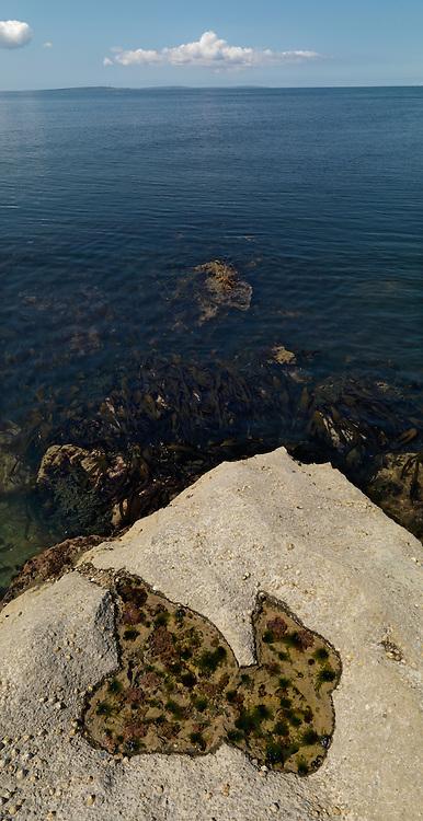 Burren coast Ireland shoreline
