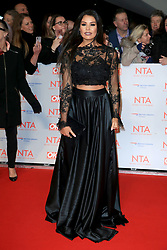 at the National Television Awards at the 02 Arena in London, UK. 24 Jan 2018 Pictured: Jessica Wright. Photo credit: MEGA TheMegaAgency.com +1 888 505 6342