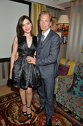 JULIAN SANDS and BELCIM BILGIN at a private screening of 'A Postcard From Istanbul' directed by John Malkovich In Collaboration With St. Regis Hotels & Resorts held at 5 Hertford Street, London on 3rd March 2015