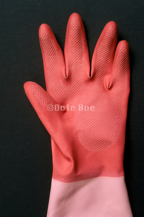 rubber kitchen glove