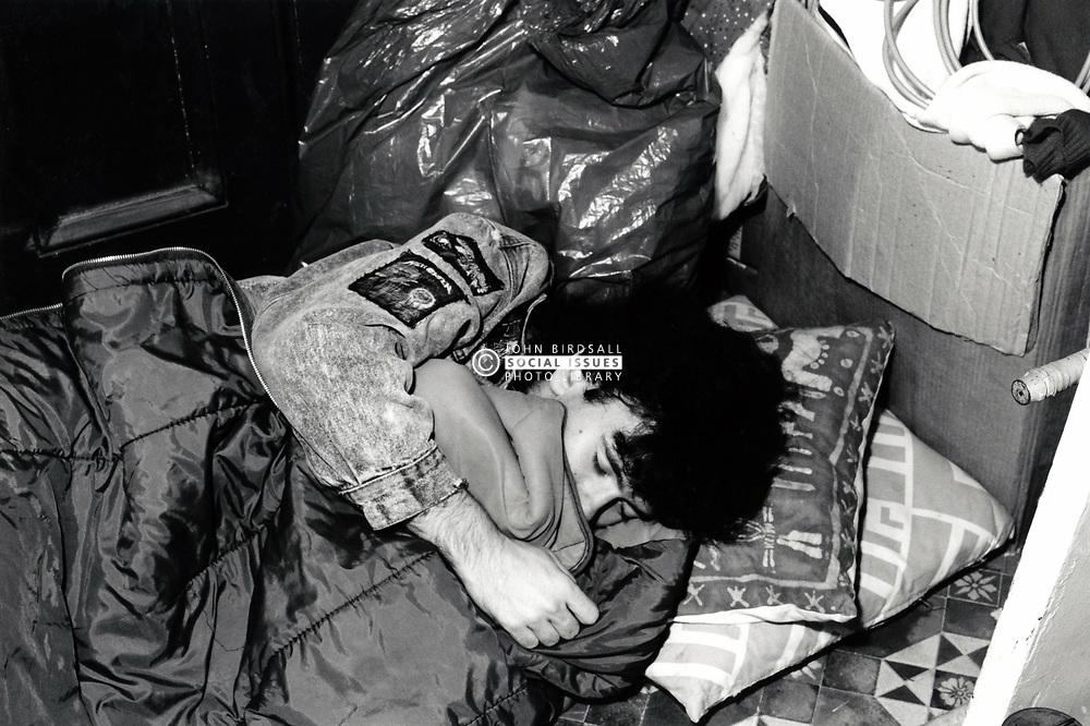 Homelessness, UK 1980s