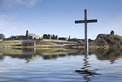 July 21, 2019 - Cross In Water, Bewick, England (Credit Image: © John Short/Design Pics via ZUMA Wire)