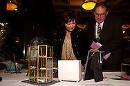 "Liz & George Rieger of Miami Township look at items in the silent auction during ""Be a Star,"" the 21st Annual Artemis Center Gala, at Sinclair College's David H. Ponitz Center, Saturday, February 5, 2011."