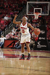 The University of Louisville Women's Basketball Team hosted North Carolina State University, Thursday, Feb. 02, 2017  at Yum Center in Louisville.