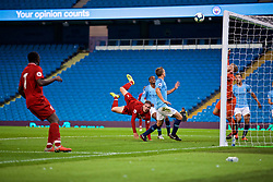 MANCHESTER, ENGLAND - Friday, August 24, 2018: Liverpool's Liam Millar during the Under-23 FA Premier League 2 Division 1 match between Manchester City FC and Liverpool FC at the City of Manchester Stadium. (Pic by David Rawcliffe/Propaganda)