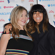 Victoria Coren Mitchell and Claudia Winkleman attends Women of the Year Lunch and Awards at Intercontinental Hotel Park Lane, London, UK. 15 October 2018.