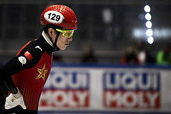 February 8, 2019 - Torino, Italia - Foto LaPresse/Nicolò Campo .8/02/2019 Torino (Italia) .Sport.ISU World Cup Short Track Torino - 500 meter Men Preliminaries.Nella foto: Haidong Jia..Photo LaPresse/Nicolò Campo .February 8, 2019 Turin (Italy) .Sport.ISU World Cup Short Track Turin - 500 meter Men Preliminaries.In the picture: Haidong Jia (Credit Image: © Nicolò Campo/Lapresse via ZUMA Press)