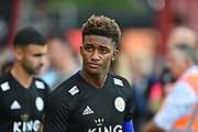 Leicester City Midfielder, Damarai Gray (7) during the Premier League match between Bournemouth and Leicester City at the Vitality Stadium, Bournemouth, England on 15 September 2018.