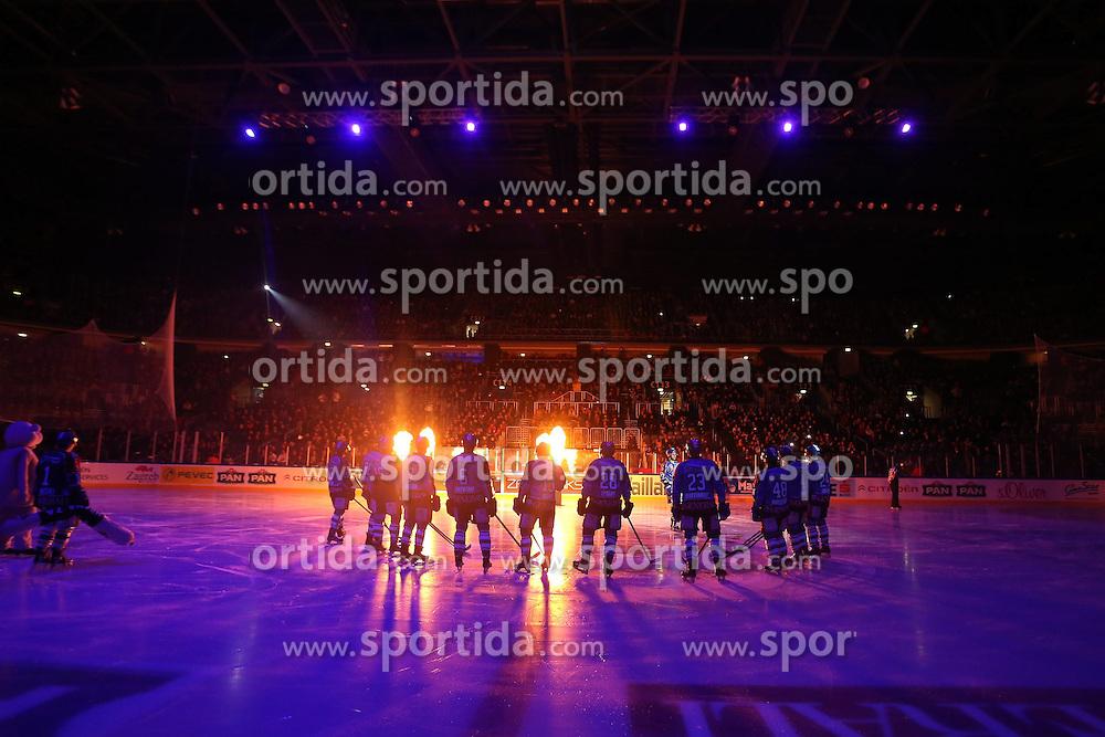 25.01.2013, Arena Zagreb, Zagreb, CRO, EBEL, KHL Medvescak Zagreb vs EC KAC, Platzierungsrunde, im Bild // during the Erste Bank Icehockey League placement Round match between KHL Medvescak Zagreb and EC KAC at the Arena Zagreb, Zagreb, Croatia on 2013/01/25. EXPA Pictures © 2013, PhotoCredit: EXPA/ Pixsell/ Dalibor Urukalovic..***** ATTENTION - for AUT, SLO, SUI, ITA, FRA only *****