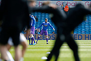 Bolton Wanderers defender Andrew Taylor warming up during the EFL Sky Bet Championship match between Leeds United and Bolton Wanderers at Elland Road, Leeds, England on 30 March 2018. Picture by Paul Thompson.