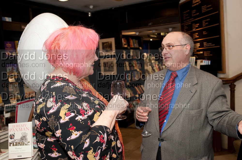 ROXY BEAUJOLAIS; STEPHEN SIMPSON, Relish: My Life on a Plate by Prue Leith. Hatchards. Piccadilly, London. 14 March 2012.