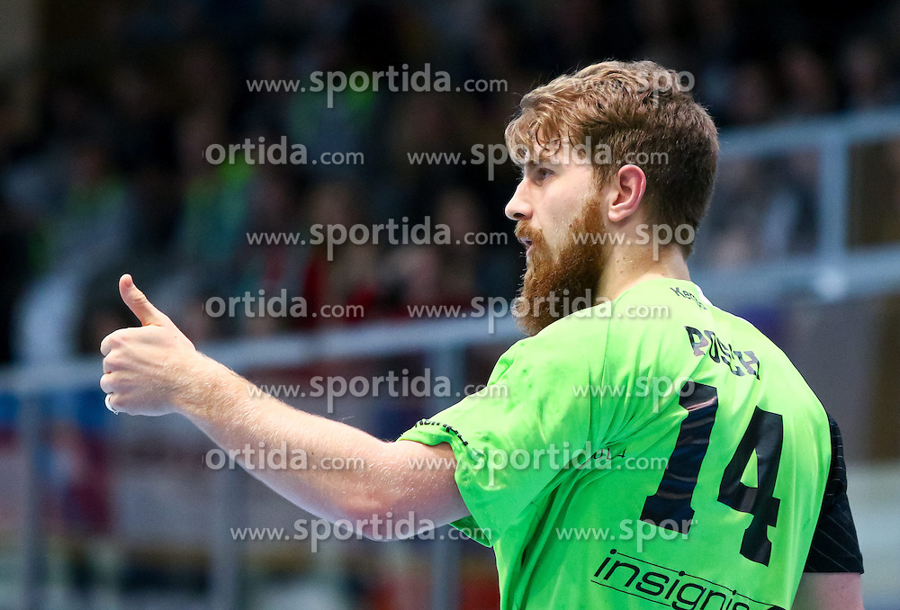 07.02.2015, Halle Hollgasse, Wien, AUT, HLA Oberes Play off, Fivers WAT Margareten vs SG West Wien, im Bild Fabian Posch (SG West Wien)// during the Handball League Austria Match between Fivers WAT Margareten and SG West Wien at the Halle Hollgasse, Vienna, Austria on 2015/02/07, EXPA Pictures © 2015, PhotoCredit: EXPA/ Sebastian Pucher