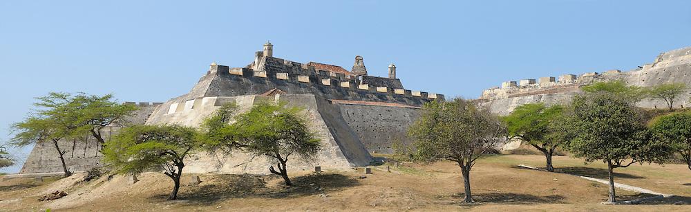 Fort San Felipe, Cartagena, Department Bolivar, Colombia
