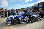 Jimmie Johnson wins the AAA 500 at Texas Motor speedway to take a 7 pt lead over Matt Kenseth with 2 races remaining in the 2013 Sprint Cup Chase