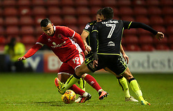 Zeli Ismail of Walsall takes on Liam Sercombe of Bristol Rovers - Mandatory by-line: Robbie Stephenson/JMP - 26/12/2017 - FOOTBALL - Banks's Stadium - Walsall, England - Walsall v Bristol Rovers - Sky Bet League One