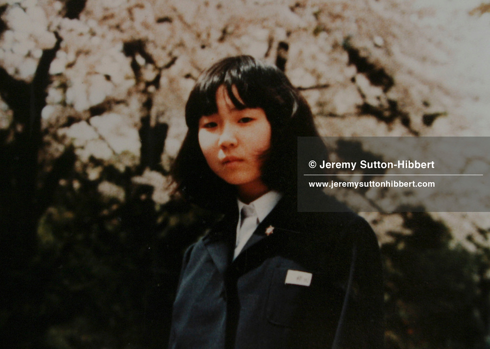 Japanese citizen Megumi Yokota, abducted in 1977 at the age of 13, from Japan, by North Korean spies.