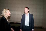 IWONA BLAZWICK; HARRY BLAIN, Damien Hirst, Tate Modern: dinner. 2 April 2012.