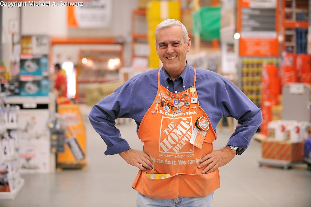 Home Depot employees. Copyright Michael A. Schwarz