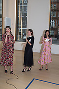 SVETLANA MARICH; KSENIA ZEMTSOVA; PHILIPPINE NGUYENArt Night Party, Phillips de Pury. 24 May 2018