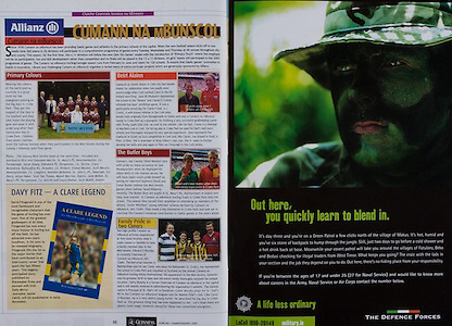 All Ireland Senior Hurling Championship - Final,.11.09.2005, 09.11.2005, 11th Septemeber 2005,.Minor Galway 3-12, Limerick 0-17,.Senior Cork 1-21, Galway 1-16,.11092005AISHCF,.The Defence Forces,