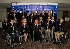 2008 Canadian Paralympic Athletics Head & Team Shots