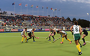 General view during a Black Sticks Women v South Africa preliminary pool match at the Glasgow National Hockey Stadium. Glasgow Commonwealth Games 2014. Monday 28 July 2014. Scotland. Photo: Andrew Cornaga/www.Photosport.co.nz
