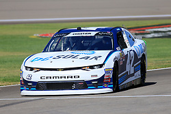 September 14, 2018 - Las Vegas, NV, U.S. - LAS VEGAS, NV - SEPTEMBER 14: Ross Chastain (42) Chip Ganassi Racing (CGR) Chevrolet Camaro ZL1 during practice for the DC Solar 300 NASCAR Xfinity Series Playoff Race on September 14, 2018, at Las Vegas Motor Speedway in Las Vegas, NV. (Photo by David Griffin/Icon Sportswire) (Credit Image: © David Griffin/Icon SMI via ZUMA Press)