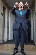 Bogota, Cundinamarca, Colombia - 05.10.2016        <br /> <br /> Former Colombian Praesidtent Andr&eacute;s Pastrana Arango on the way for talks with President Santos three days after the failed Colombian peace referendum. 50,22% voted against the negotiated peace contract between the marxist guerrilla FARC and the Colombian government.<br /> <br /> Der ehemalige kolumbianische Praesidtent Andr&eacute;s Pastrana Arango auf dem Weg zu Gespraechen mit Praesident Santos drei Tage nach dem gescheiterten kolumbianischen Friedensreferendum. 50,22% stimmten gegen ausgehandelten Friedensvertrag zwischen der marxistischen FARC Guerilla und der kolumbianischen Regierung.<br />  <br /> Photo: Bjoern Kietzmann