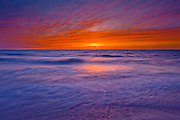 Dusk on Lake Huron<br /> Grand Bend<br /> Ontario<br /> Canada