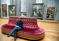 The Rubens room at Royal Museum for Fine Arts in Antwerp Belgium