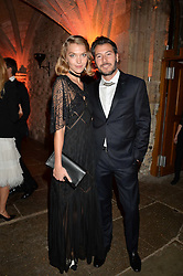 ARIZONA MUSE and BONIFACE VERNEY-CARRON at Save the Children's spectacular, black tie Winter Gala, a festive fundraising event held at London's Guildhall. Guests were transported into the magical world of the much-celebrated British novelist, Roald Dahl, in celebration of his centenary, for a marvellous evening of fine dining and gloriumtious entertainment to raise money to help transform children's lives across the world and here in the UK.