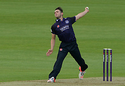 Matt Taylor of Gloucestershire - Photo mandatory by-line: Dougie Allward/JMP - Mobile: 07966 386802 - 15/05/2015 - SPORT - Cricket - Bristol - Bristol County Ground - Gloucestershire County Cricket v Middlesex County Cricket - NatWest T20 Blast