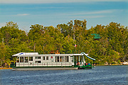 Houseboat on Lake of the Woods<br />Lake of the Woods<br />Ontario<br />Canada