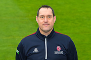 Gary Metcalf head shot at Somerset County Cricket Club at the Cooper Associates County Ground, Taunton, United Kingdom on 11 April 2018. Picture by Graham Hunt.