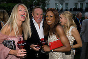 DR. ANDREA MACAURAN; ANDREW NEIL, PHOEBE VELA. Tatler Summer Party. The Hempel. Craven Hill Gdns. London. 25 June 2008 *** Local Caption *** -DO NOT ARCHIVE-© Copyright Photograph by Dafydd Jones. 248 Clapham Rd. London SW9 0PZ. Tel 0207 820 0771. www.dafjones.com.