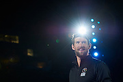 Olympian and multi gold medalist Michael Phelps smiles while opening ceremony of the Special Olympics World Games Los Angeles 2015 at the Los Angeles Coliseum Stadium on July 25, 2015 in Los Angeles, USA.<br /> USA, Los Angeles, July 25, 2015<br /> <br /> Picture also available in RAW (NEF) or TIFF format on special request.<br /> <br /> For editorial use only. Any commercial or promotional use requires permission.<br /> <br /> Adam Nurkiewicz declares that he has no rights to the image of people at the photographs of his authorship.<br /> <br /> Mandatory credit:<br /> Photo by &copy; Adam Nurkiewicz / Mediasport