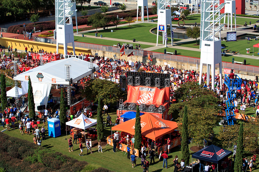 General Edits of ESPN GameDay prior to Florida State v Alabama Tailgate Town (Bob Snow via Abell Images for Chick-fil-A Kickoff)