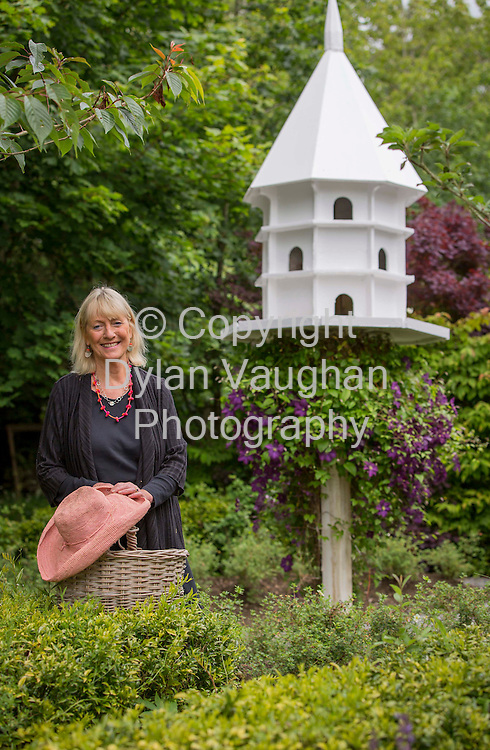 4/7/2012.Jane O Malley pictured in her garden at her home in Physicianstown Callan Co. Kilkenny..Picture Dylan Vaughan