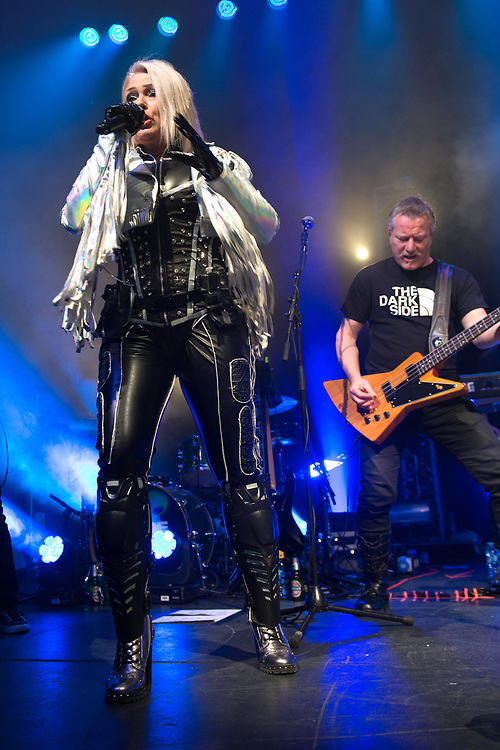 Kim Wilde in concert at The Old Fruit Market, Glasgow, Great Britain 2nd April 2018