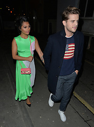 Vanessa White and boyfriend Gary Salter attend Browns Focus & Coca-Cola London Fashion week Party during London Fashion Week Fall/Winter 2015/16 in London, UK. 21/02/2015<br />