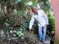 SOUTH AFRICA - Durban - 05 August 2020 - Traditional healer Mkhulu Ngcobo of Inanda, Durban at his home ahead of a consultation. Ngcobo has discovered a muti that will help to boost the immune system while the body is fighting Corona Virus. One of his approved medicine IHashi is a Immune system booster medicine made from natural herbs produced by Simbithi Medicines and was approved by UKZN medicine school. <br /> Picture: Motshwari Mofokeng/African News Agency (ANA)