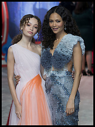 March 21, 2019 - London, London, United Kingdom - Image licensed to i-Images Picture Agency. 21/03/2019. London, United Kingdom. Nico Parker and her mother Thandie Newton  arriving at the Dumbo premiere in London. (Credit Image: © Stephen Lock/i-Images via ZUMA Press)