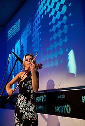 Violin player Alenka Semeja during Sporto  2010 Gala Dinner and Awards ceremony at Sports marketing and sponsorship conference, on November 29, 2010 in Hotel Slovenija, Portoroz/Portorose, Slovenia. (Photo By Vid Ponikvar / Sportida.com)