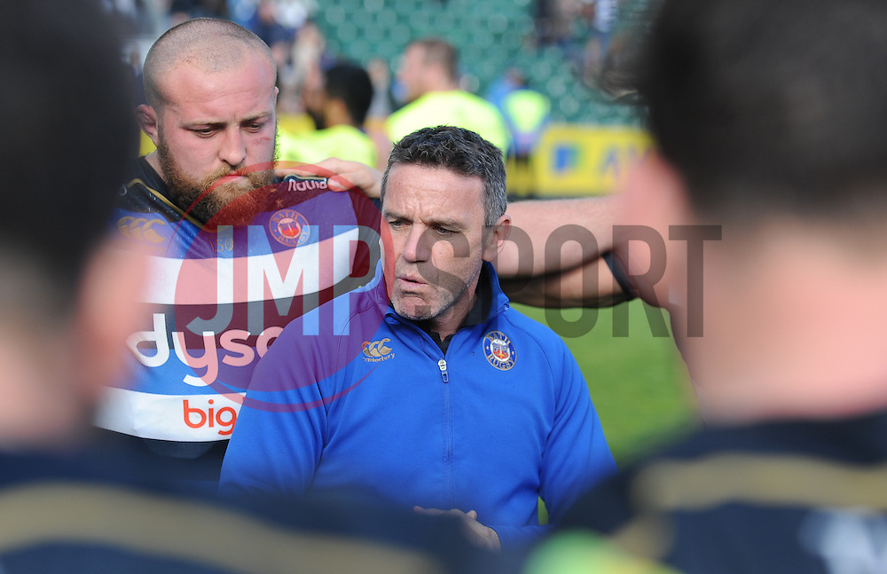 Mike Ford, head coach of Bath Rugby after the game.  - Mandatory by-line: Alex Davidson/JMP - 23/04/2016 - RUGBY - Recreation Ground - Bath, England - Bath Rugby v Sale Sharks - Aviva Premiership