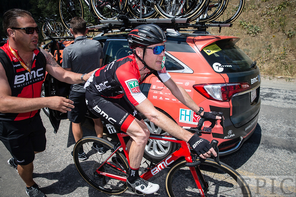 Cycling: Larry H. Miller Tour of Utah 2017 / Stage 2 - Brent Bookwalter (BMC)<br /> <br /> Brigham City - Snowbasin Resort (151km) / TOU / Utah  <br /> &copy; Jonathan Devich