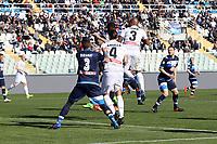 """Il gol di Duvan Zapata Udinese<br /> Goal Celebration Udinese<br /> Pescara 12-03-2017  Stadio """"Adriatico Giuseppe Cornacchia""""<br /> Campionato Serie A 2016/2017<br /> Pescara - Udinese<br /> Foto Luca Pagliaricci / Insidefoto"""