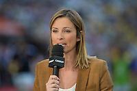Isabelle Ithurburu  - 13.06.2015 - Clermont / Stade Francais - Finale Top 14<br />Photo : Nolwenn Le Gouic / Icon Sport
